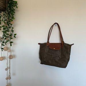 Olive Longchamp Bag